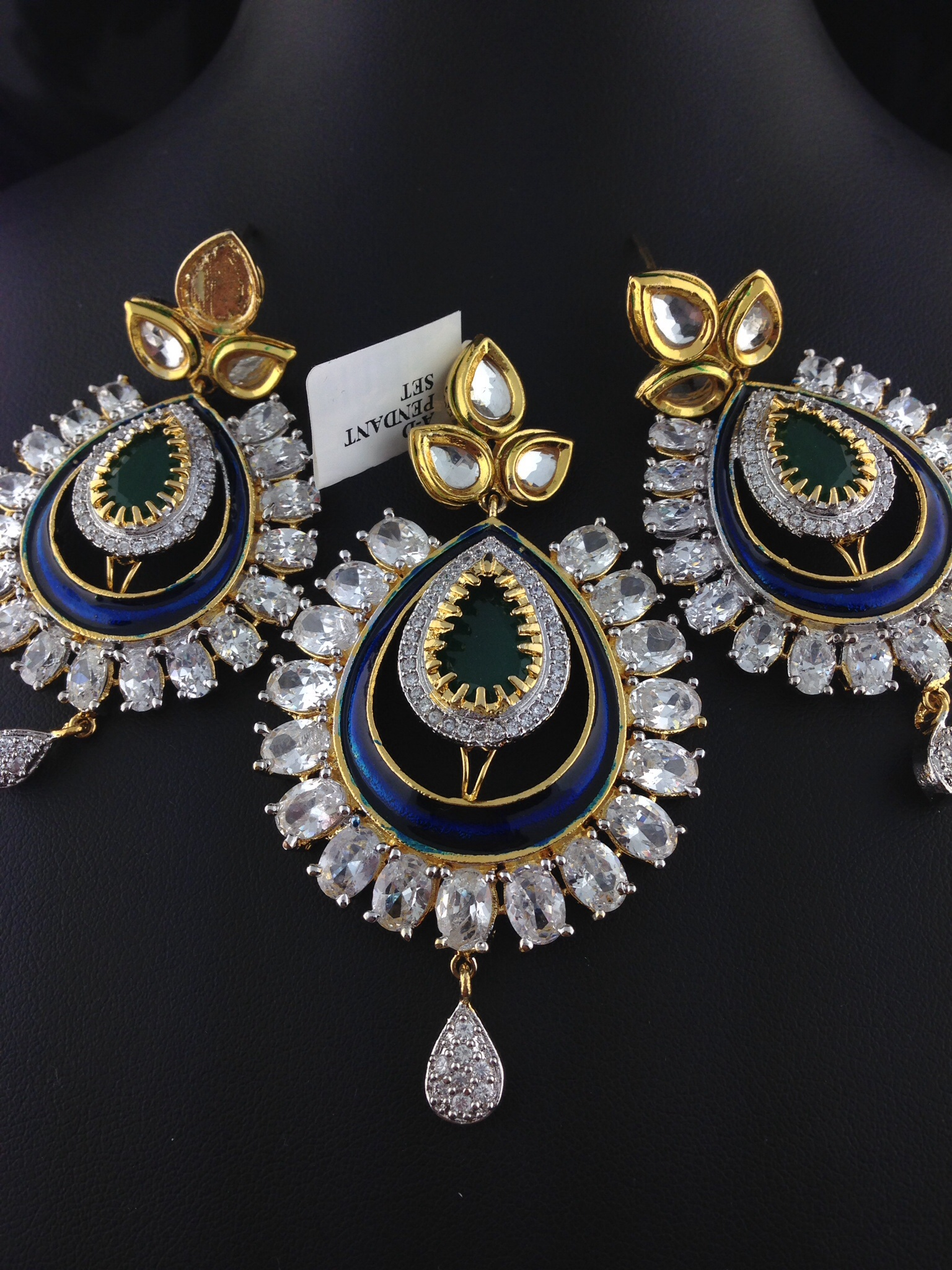 jewellery indian jewelry designs and large diamond jewel necklace pin kirtilals