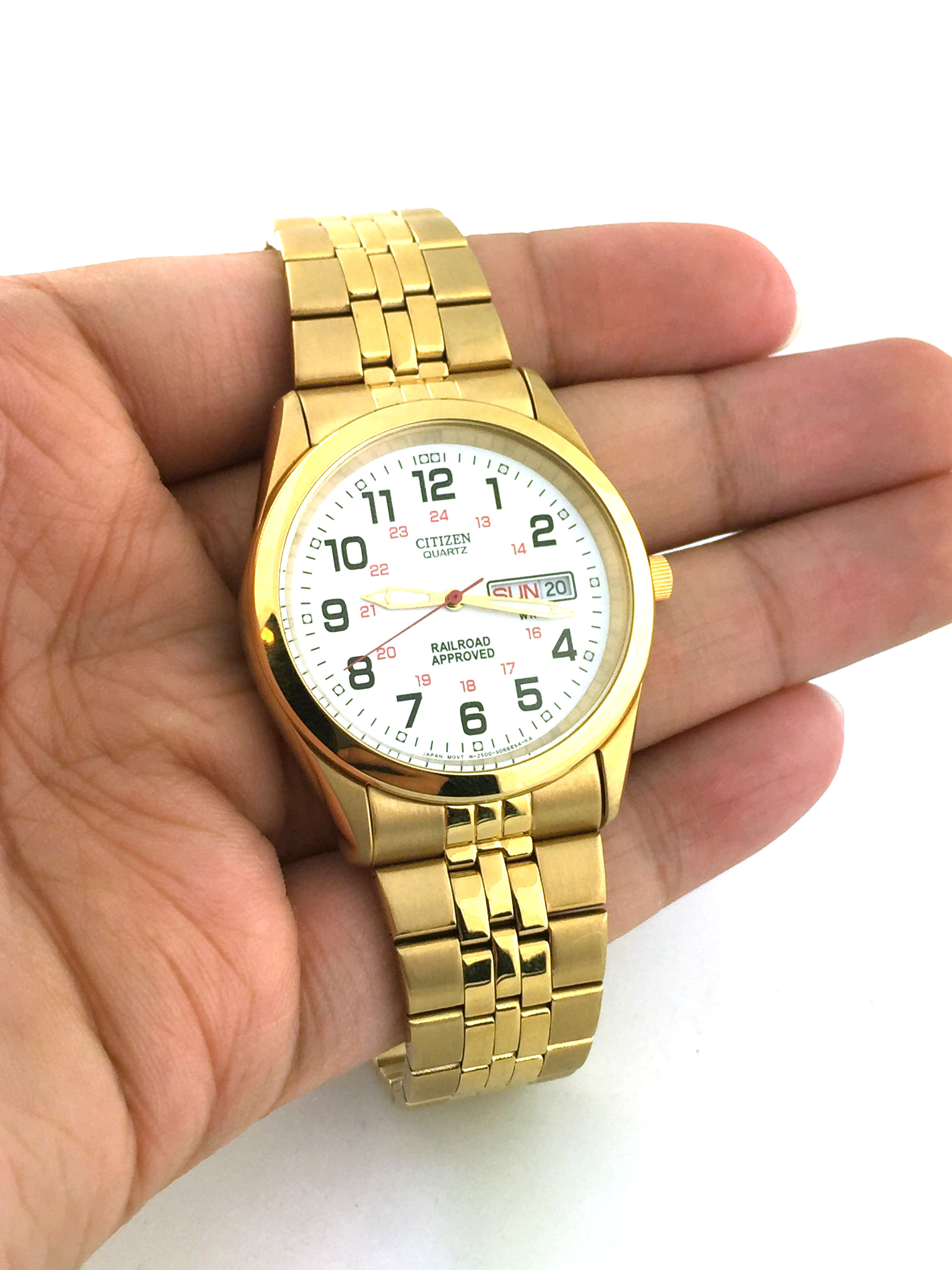 a8be066f6baa4 Citizen Men s BK3792-58A WR50 Gold Tone Stainless Steel Dress Watch Style  No.  SJW0041 Price    54.99