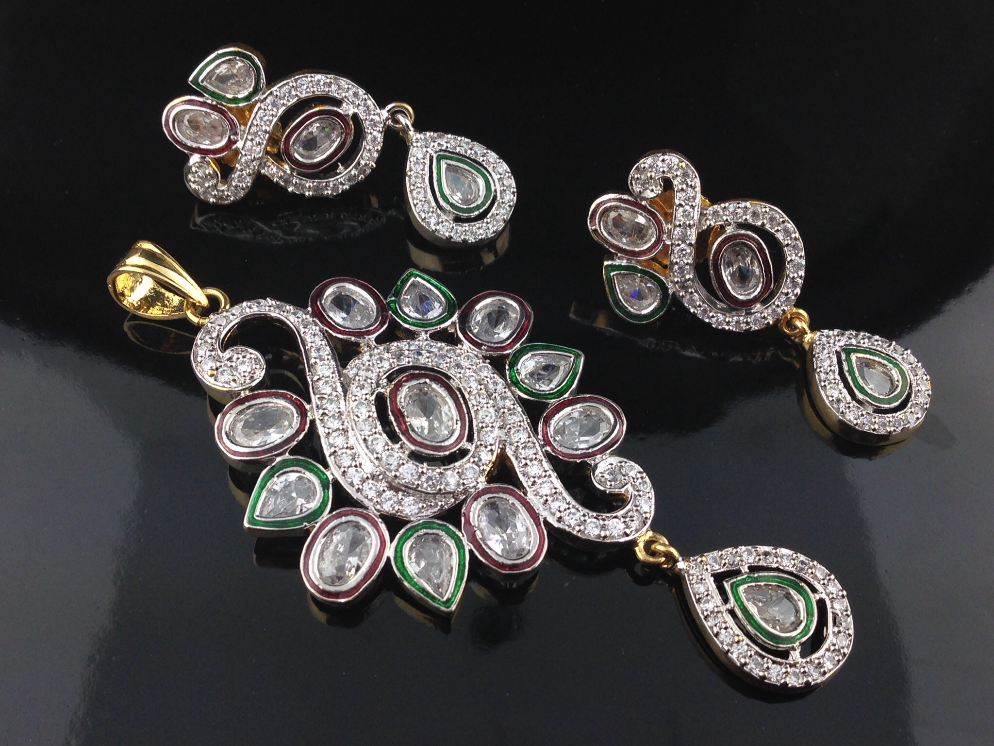 online in indian with islamic jewelry atlanta set gold diamond kundan and p bridal american rubies stunning